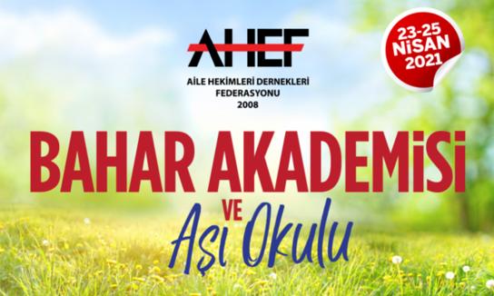 AHEF Bahar Akademisi uydu sempozyumu