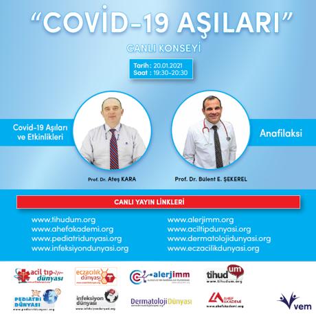 Covid-19 Aşıları ve Anafilaksi